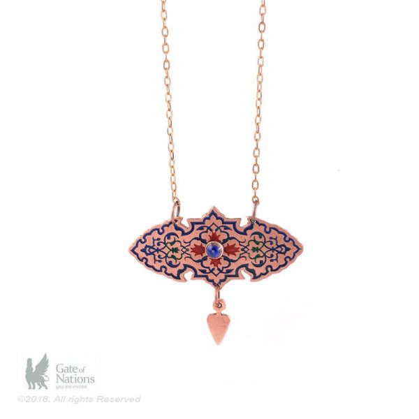 Copper Necklace Model Red Sassanid