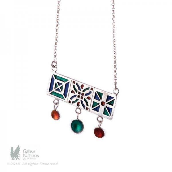 Silver Necklace Model Three Orosi