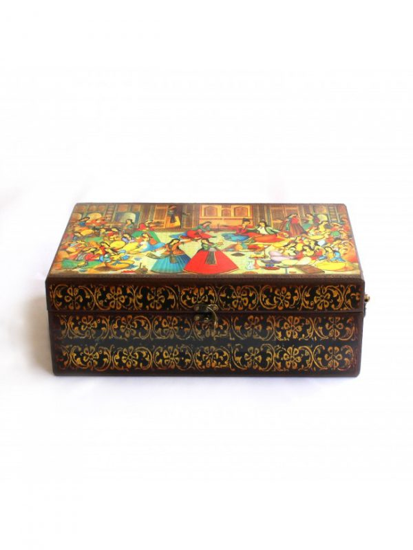 Drawing Box Haram Model